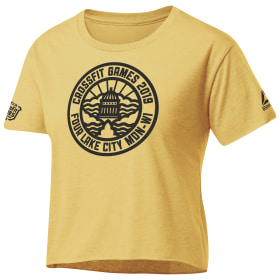 CrossFit® Games Madison Capitol Seal Cropped Tee
