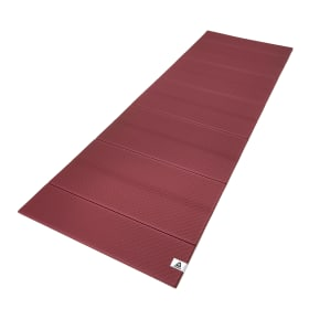 Folded 6mm Yoga Mat - Rustic Wine