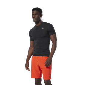 T-shirt de compression avec logo WOR