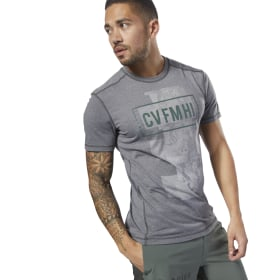 Camiseta Reebok CrossFit Burnout SS - Solid