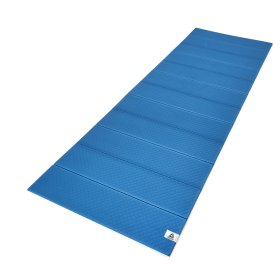Folded 6mm Yoga Mat - Blue