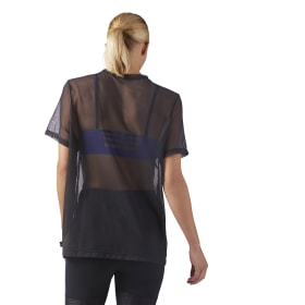 Mesh Graphic T-Shirt