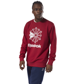 Sudadera cuello redondo Classics French Terry Big Iconic