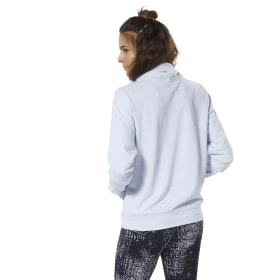 Training Essentials Gemarmerd Sweatshirt met Col