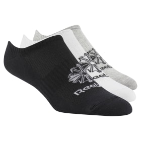 Classics Foundation Invisible Socks 3 Pairs