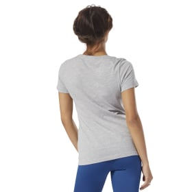 Reebok Linear Scoop Neck Tee