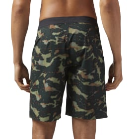 Reebok CrossFit Super Nasty Short - Splash Camo