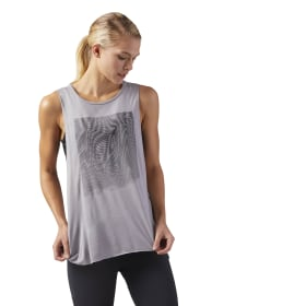 Moire Muscle Tanktop