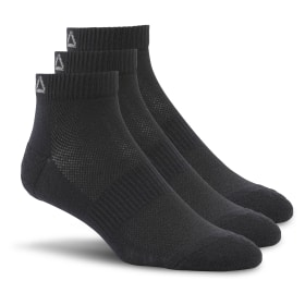 Reebok Essentials Unisex Ankle Sock - 3 Pack