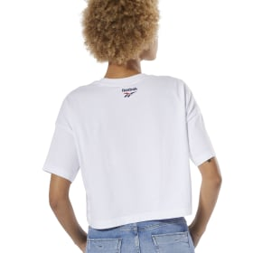 Classics All Over Vector Crop Tee