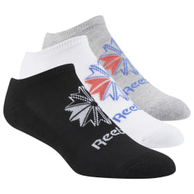 Reebok Classics No Show Socks - 3 Pack