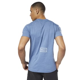 Reebok CrossFit Burnout SS T-Shirt – Solid