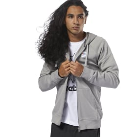 Felpa con cappuccio Classics Advanced Full-Zip