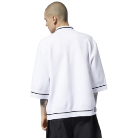 Reebok by Pyer Moss Zip-up Polo Shirt
