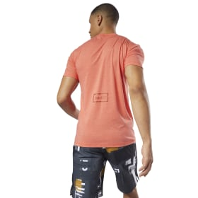 Reebok CrossFit Burnout SS T-shirt - Effen