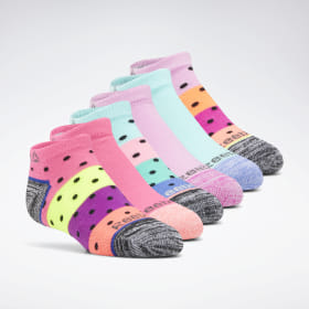 Reebok Delta Basic Low Cut Socks - 6 Pack