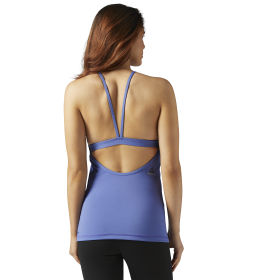 LES MILLS Tank with built-in Padded Sports Bra