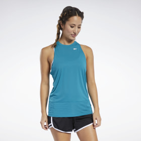 New Reebok Training T-Shirt Top Ladies Womens Gym Running Fitness Green