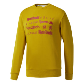 Classics International Sweatshirt met Ronde Hals