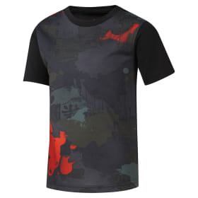 Boys Training all over print T-Shirt