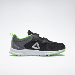 Reebok Almotio 4.0 Shoes Black / Cold Grey / Solar Green DV8714
