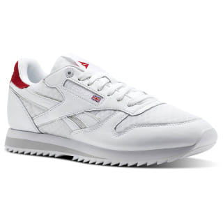 Classic Leather HC White/Excellent Red/Team Dark Royal/Steel CM9667
