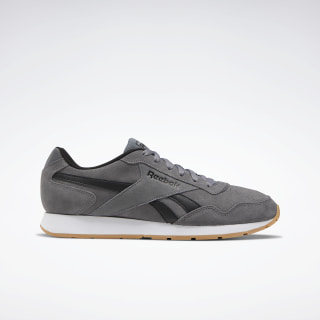 Reebok Royal Glide Shoes Pure Grey 6 / Black / Reebok Rubber Gum-01 EF7691