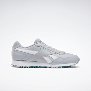 Reebok Royal Glide Ripple Shoes Cold Grey 2 / Green Slate / Heritage Teal EF7703