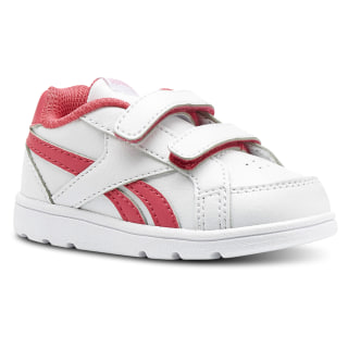 Reebok Royal Prime ALT - Niños WHITE/TWISTED PINK/LIGHT PINK CN4778