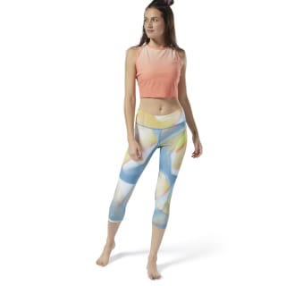 Yoga Lux Bold 3/4 Tights Mineral Mist DP5848