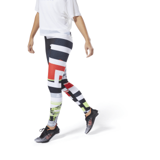 Legginsy WOR Meet You There Engineered Neon Lime DU4828