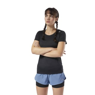 T-shirt Running ACTIVCHILL Black D78724
