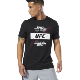 UFC Fan Gear Fight For Yours Tee Black DU4579