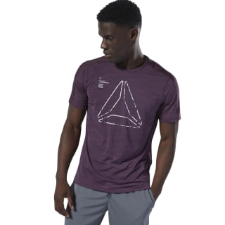 Training ACTIVCHILL Graphic Tee Urban Violet DU3935