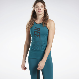 Studio High Intensity Tanktop Heritage Teal FK5380