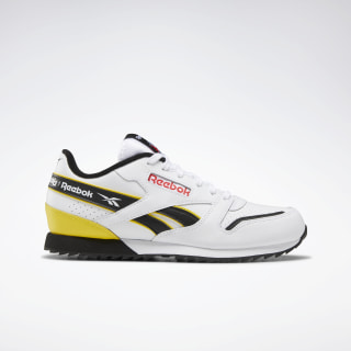 Classic Leather Ripple ATI 90s White / Black / Primal Red EG5245