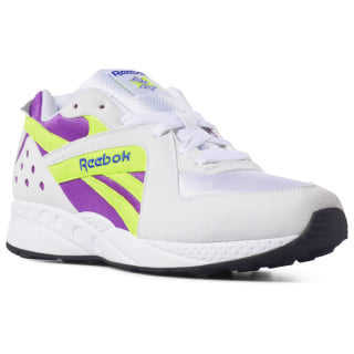 Pyro Shoes White / Vicious Violet / Neon Yellow / Crushed Cobalt DV4847