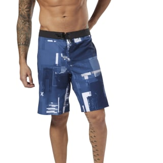 Reebok EPIC Cordlock Shorts - Digital CrossFit Bunker Blue DM5653