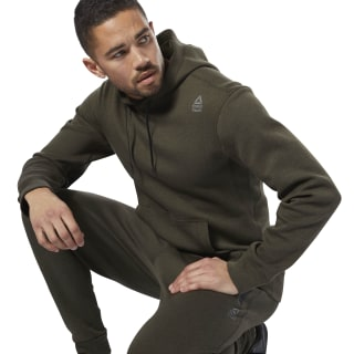 Reebok CrossFit Double Knitted Hoodie Brown D94878