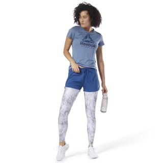 Running Tee - Graphic Blue Slate D78746