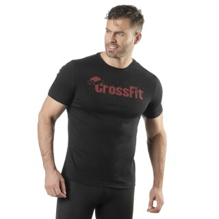 Reebok CrossFit Christmas Graphic Tee Black DY2425