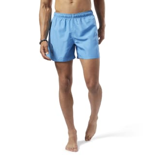 Beachwear Basic Boxer Shorts Cyan EI9919