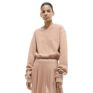 VB Cropped Sweatshirt Nude FQ7920