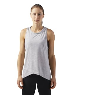 Sport Essentials Tank Light Grey Heather CF5643