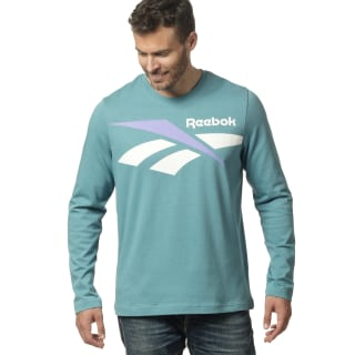 Classic Vector Long Sleeve Tee Mineral Mist DX7359