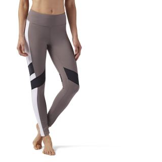 Reebok Lux Legging - Color Block Smoky Taupe CF3177