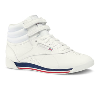 Freestyle Hi Retro-White / Bunker Blue / Primal Red / Skull Grey CN2964