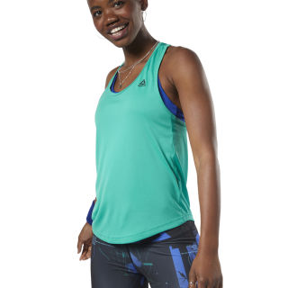Performance Mesh Tanktop Emerald EC2268