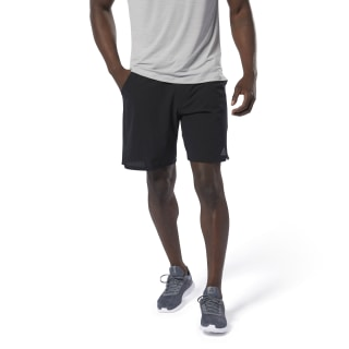 Training Epic Geweven Tailleband Short Black DU4332