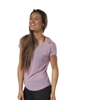 Workout Ready ACTIVCHILL Tee Infused Lilac D95081